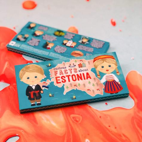 """Shokotahvel """"Curious facts about Estonia"""""""