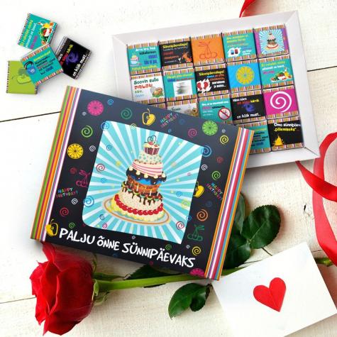 """Shokobox """"Palju õnne sünnipäevaks"""""""