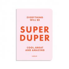 """Märkmik kingituseks """"SUPER DUPER"""""""