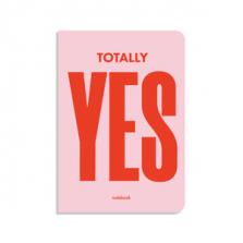 """Märkmik kingituseks """"Totally YES"""""""