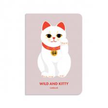 """Märkmik kingituseks """"Wild and Kitty"""""""
