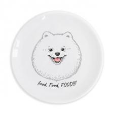 """Taldrik kingituseks Hungry Spitz """"Food, food, food"""""""