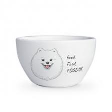 """Kauss kingituseks Hungry Spitz """"Food, food, food"""""""