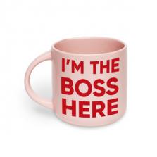 """Kruus kingituseks """"I'm the Boss here"""""""