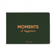 "Fotoalbum kingituseks ""Moments of happiness"""