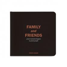 "Fotoalbum kingituseks ""Family and friends"""