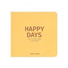 "Fotoalbum kingituseks ""Happy days"", kollane"
